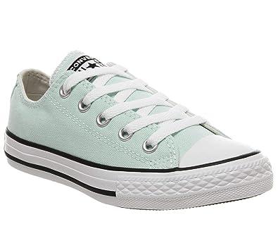 f7a60eb17aefb Converse CTAS Ox Chaussures DE Sport Enfant Bleu Clair 663631