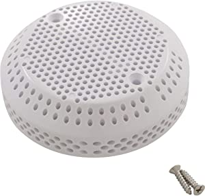 """Balboa Water Group Suction Cover, BWG, 3-3/4"""", 100gpm, White, Bath Only"""