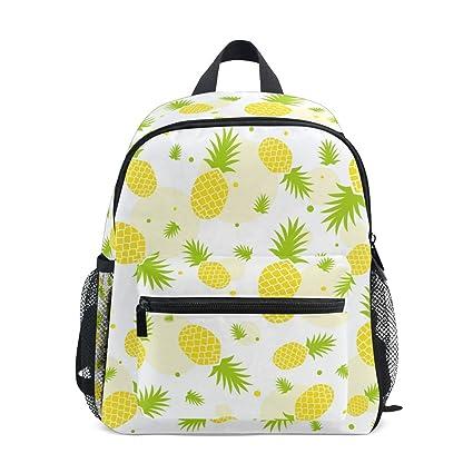 Amazon.com: Mochila infantil de piña para la escuela, bolsa ...