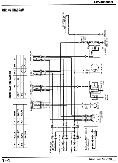 r3009 honda ignition switch wiring diagram    wiring diagram
