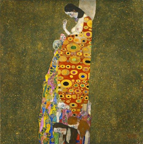 """Gustav Klimt : """"Hope II"""" (1907-08) - Giclee Fine Art Print"""
