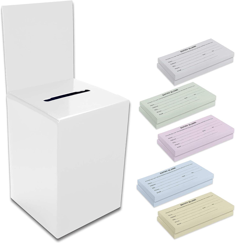Gorgeous Box White Handmade Program Box Elegant Unique Amenities Box Elegantly. Custom Made
