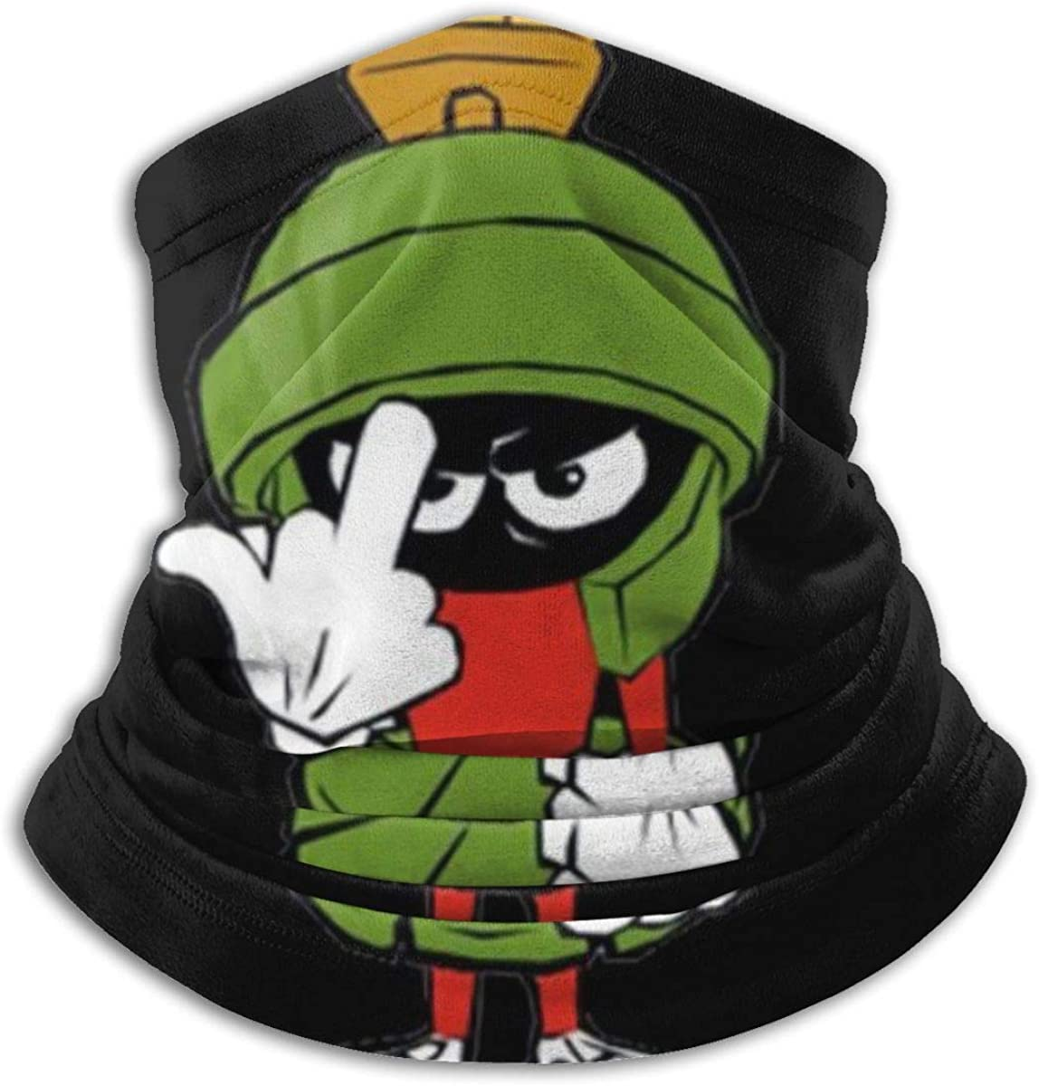 Puffin Pattern Microfiber Neck Warmer Balaclavas Soft Fleece Headwear Face Scarf Cover for Winter