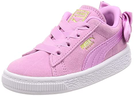 Puma suede bow ac inf INFANT SCARPE SPORTIVE  Amazon.it  Sport e ... 37b3c6fb568