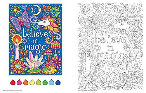 Free Spirit Coloring Book Is Fun Design Originals 32 Whimsical