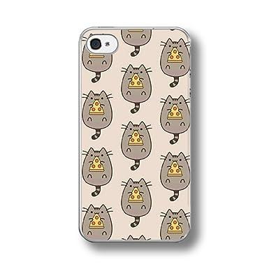 Pusheen Pizza iphone case