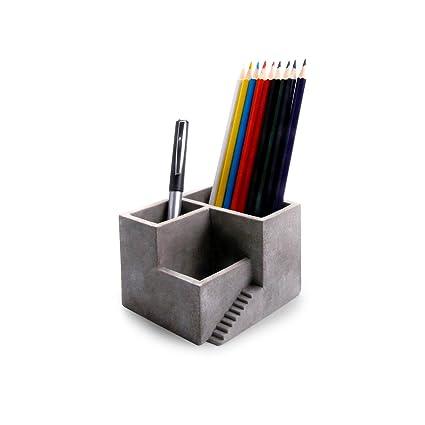Desk Accessories & Organizer 1 Pcs Pen Pencil Holder 6 Mini Desk Office Desktop Stationery Organiser Colors Wide Selection; Office & School Supplies