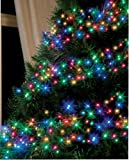 Multi-Action Cluster 288 LED Lights Multi-Coloured Christmas Decoration