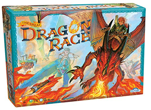 - Fantasy Board Game - the Great Dragon Race - To the Victor Goes the Treasure