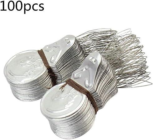 100Pcs Metall Nadeleinfädler für Handnähen oder Nähmaschine