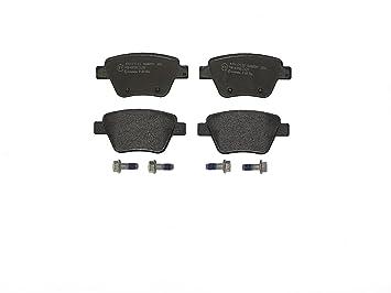 4-teilig Brembo P 85 100 Bremsbelagsatz Scheibenbremse