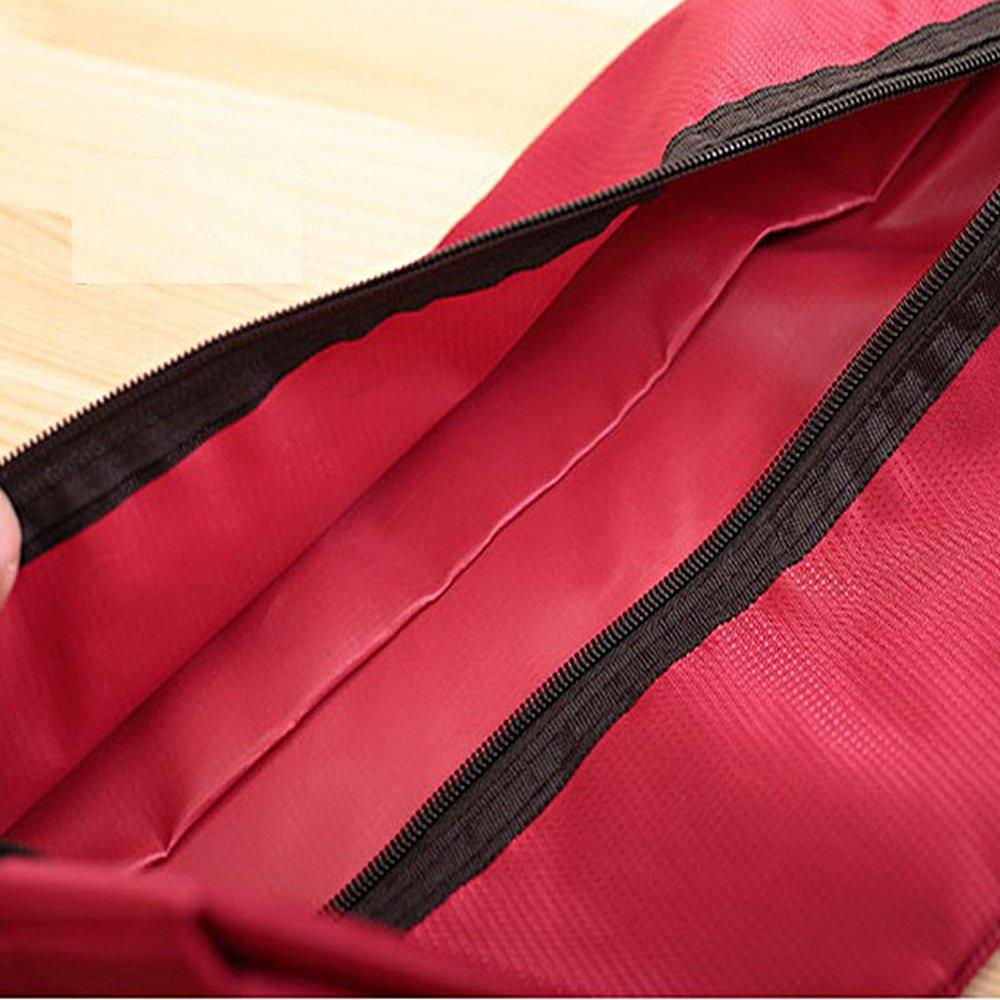 Ya Jin 4 Pack Shoe Bags Travel Gym Organizer Storage Portable Tote Bag Nylon Waterproof Pouch with Zipper Random Color