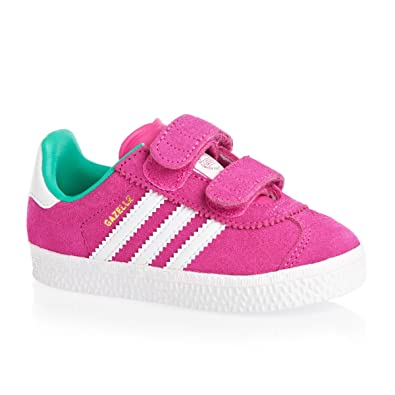 adidas Originals Gazelle Cf 2 I, Baskets mode mixte enfant - Rose (Rose/