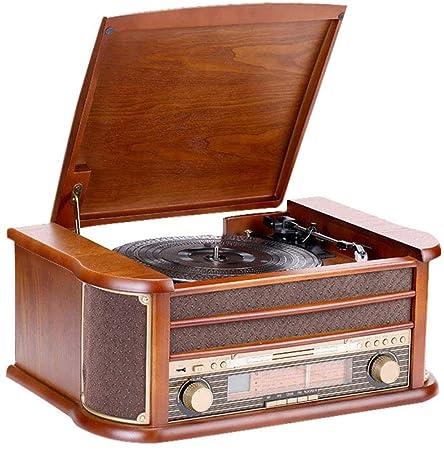 Retro Phonograph Sala de Estar Europeo Antiguo Bluetooth LP ...