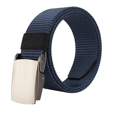 nuovo arrivo 1e180 7edd4 Cintura Tattica da Uomo, Uomo Casuale Moda Cintura Militare con Fibbia in  Metallo a Sgancio Rapido Cinture Militari Unisex per Lavorare All'aperto