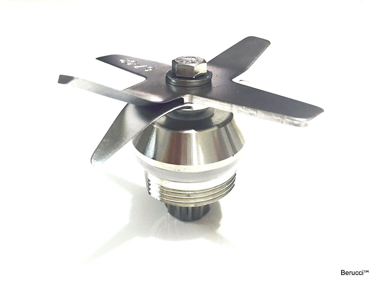 Berucci Stainless Steel Heavy Duty Wet Dry Ice Six Blades and Drive Socket Assembly for Vitamix 1151 1152 by Berucci (Image #5)