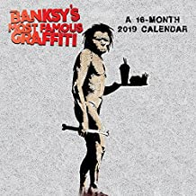 Banksy's Most Famous Graffiti 2019 Calendar