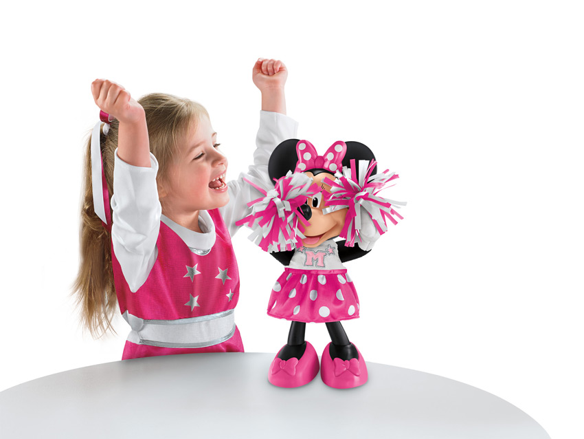 Toys For Cheerleaders : Amazon fisher price disney minnie cheerin