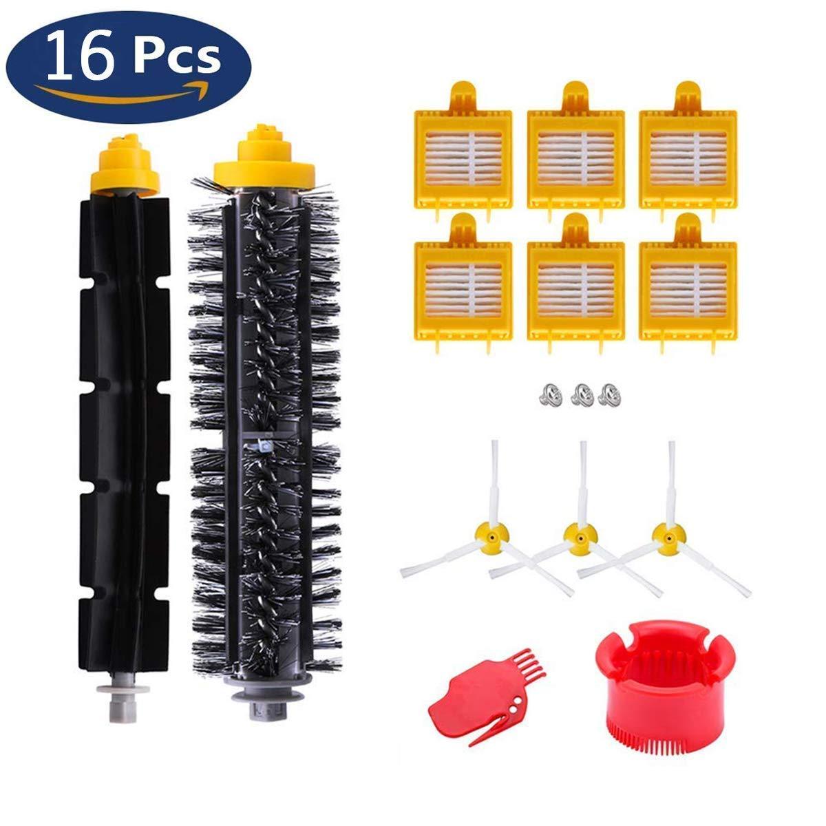 Kit di accesoires per iRobot Aspirapolvere Roomba Serie 600 605 610 615 616 620 625 630 631 639 650 651 660 670 671 680 681 690 YoRiBo