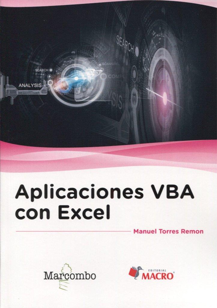 Download Aplicaciones VBA con Excel pdf epub