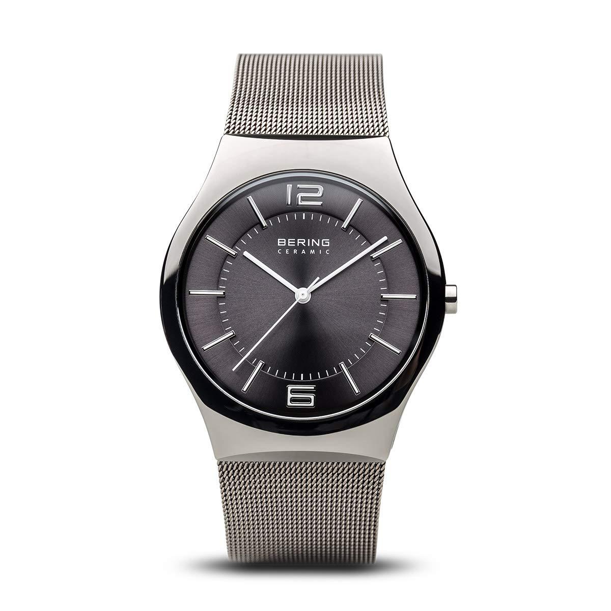 32039 Quarz Mit 309 Herren Bering Analog Edelstahl Uhr Armband 35ARLjq4