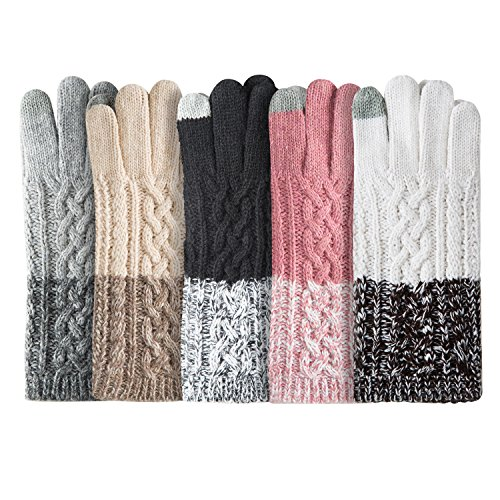 Review Winter Warm Knit Gloves