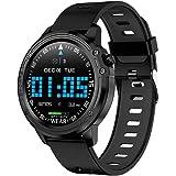 Amazon.com: L9 Smart Watch Men ECG+PPG Heart Rate Blood ...