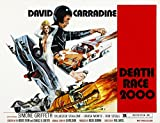 Death Race 2000 From Left: Simone Griffeth David Carradine 1975 Movie Poster Masterprint (28 x 22)