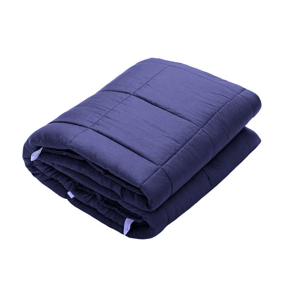 Rziioo Weighted Blanket,Great Sleep Therapy For People With Anxiety,Autism,ADHD,Insomnia Or Stress,90*120Cm/2.3Kg [Energy Class A]
