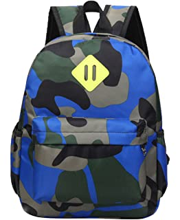 Fanci Camo Flora Prints Preschool Kindergarten Bookbag Rucksack Camouflage Toddler Kids School Backpack Book Bag Ages