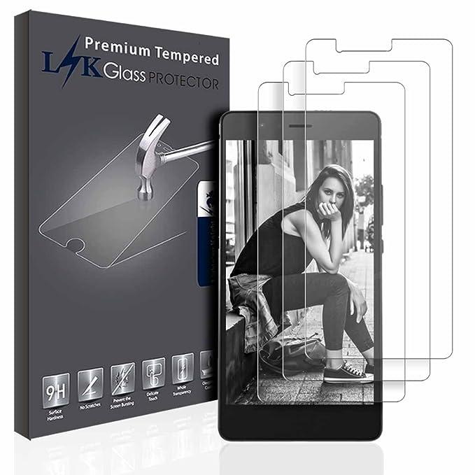15 opinioni per L&K [3 Pack] Huawei P9 Lite Pellicola Protettiva, LK Protezione Schermo Vetro