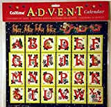 Best Value Christmas Advent Calendar for Kids with Alphabet Xmas Perfect Holiday Gift Imported {jg} For mom, dad, sister, brother, grandma, friend, gay