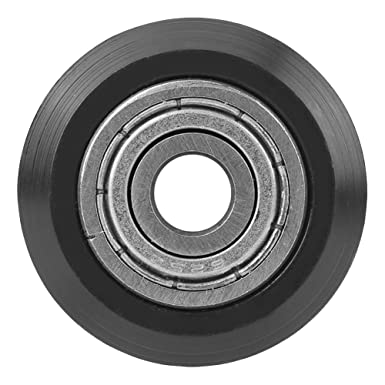 Forma en Forma de V Rueda 5mm Diámetro 625 Rodamiento Polea Accesorios Doble Rodamiento Puerta Corredera para CNC Impresora 3D 20PCS: Amazon.es: Industria, empresas y ciencia