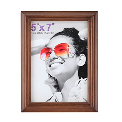 Amazon.com: RPJC 5x7 Picture Frames Made of Solid Wood High ...