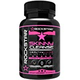 Rockstar Skinny Cleanse, 60 Capsules, Weight Loss Pills for Women Colon Cleanse and Detox, Colon Cleanse Detox for Women