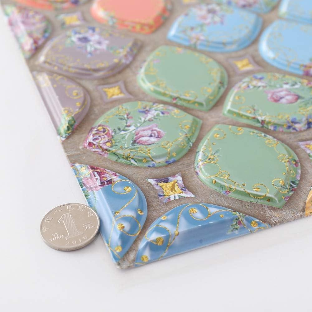 Fairylove 3D Brique Autocollant Mural Imperm/éable Auto-adh/ésif en Mosa/ïque pour la Salle de Bain Cuisine Vintage Stickers Carrelage 30x30