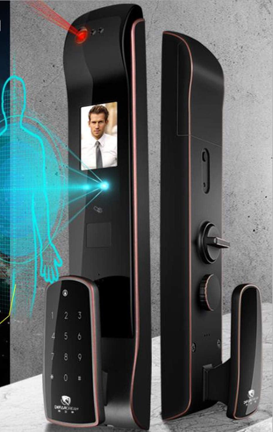 Regalos memorables Instalación de cerradura de puerta Reconocimiento facial Cerradura inteligente automática Cerradura de huella digital Cerradura electrónica para puerta de seguridad para el hoga