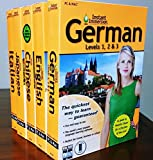 Instant Immersion Learn To Speak German, Japanese, Italian, Chinese, English Box