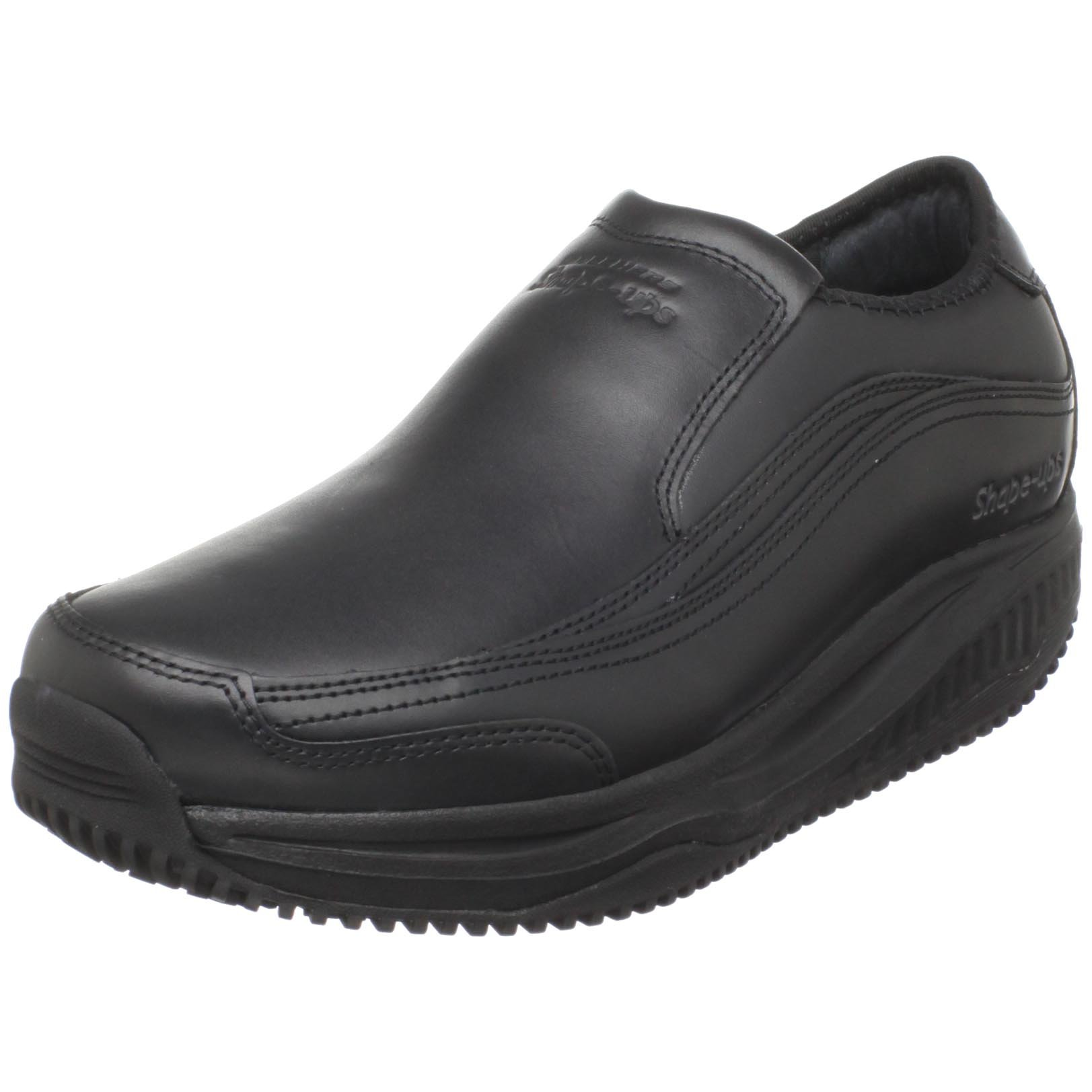 Skechers for Work Men's Shape-Ups Absolute Toner Shoe,Black,7.5 W US