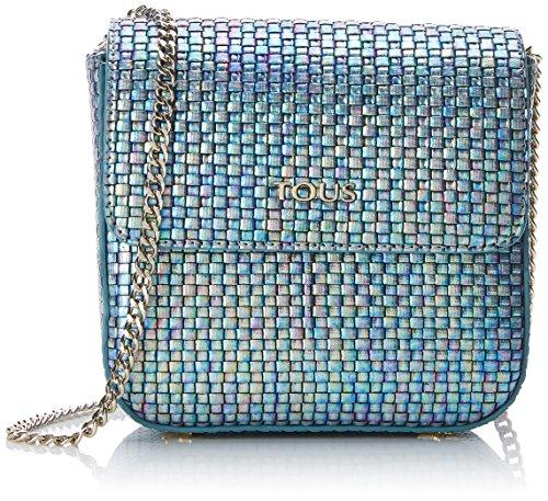 Tous - Rita Iris Re Pequeña, Borse Messenger Donna Blu (Blue)