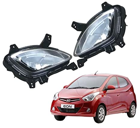 Kozdiko Car Fog Lamp Lights for Hyundai Eon Set of 2 Pcs