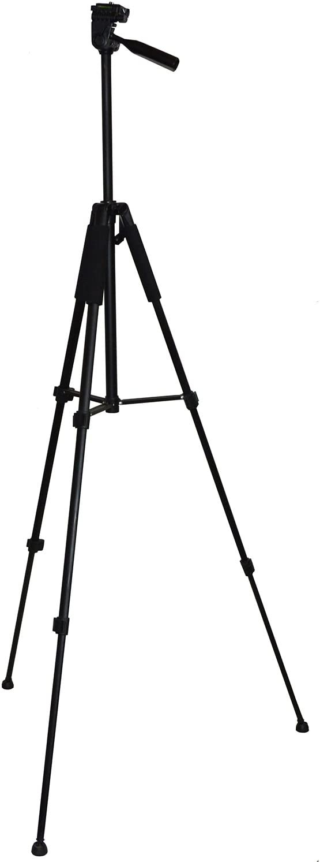 HeroFiber 60 Pro Series Lightweight Photo//Video Tripod /& Carrying Case for Canon EOS 7D 60Da /& 70D Digital SLR Cameras w Ultra Gentle Cleaning Cloth 60D