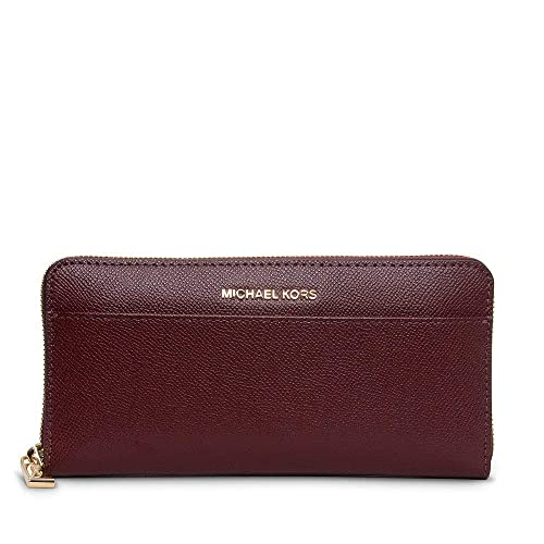 aba685bcec3e MICHAEL Michael Kors Women's Saffiano Leather Continental Purse One Size Red