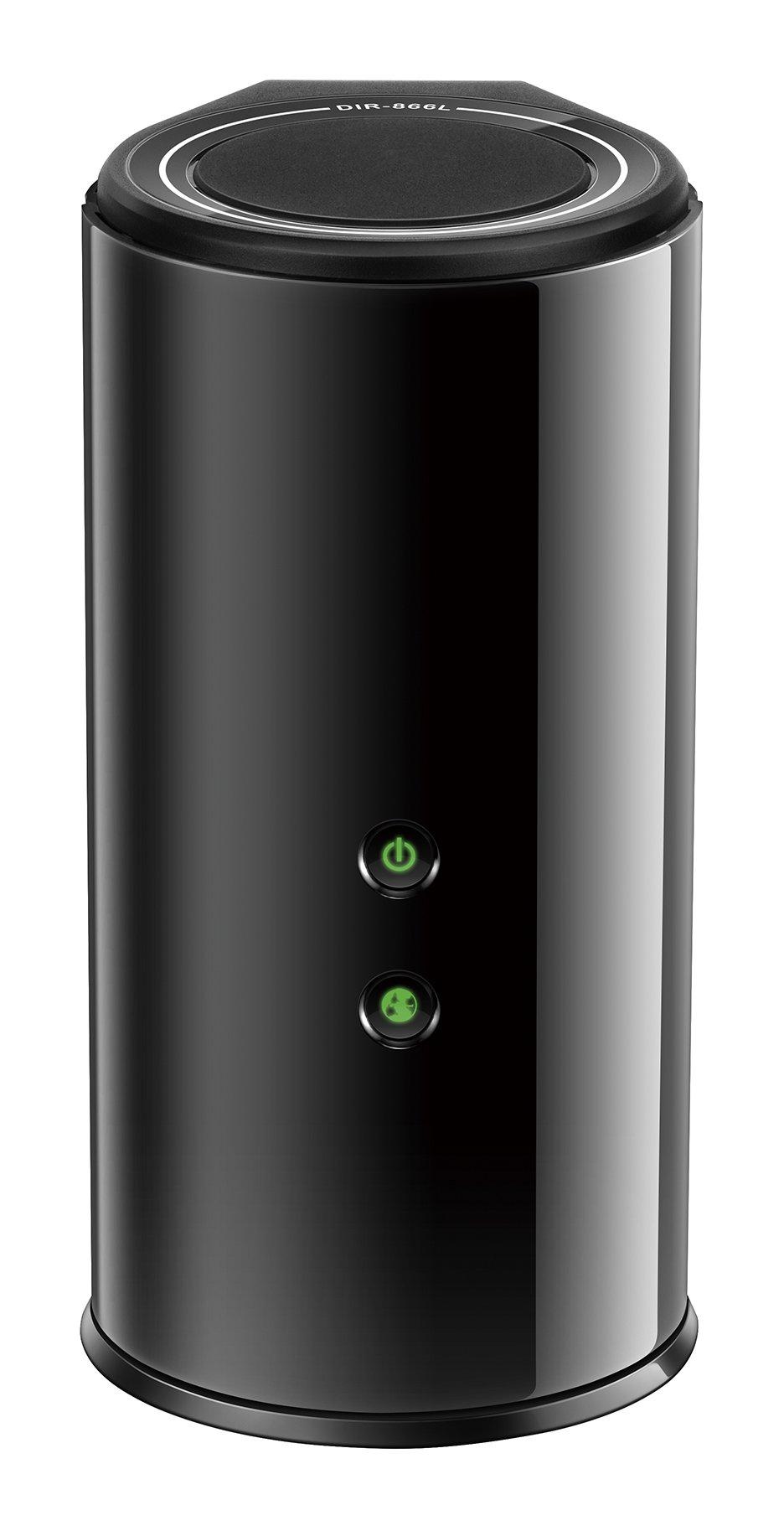 D-Link Wireless AC Smart Beam 1750 Mbps Home Cloud App-Enabled Dual-Band Gigabit Router (DIR-866L) by D-Link