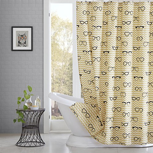 DS CURTAIN Simone Childhood Shower Curtain,Mildew Resistant Fabric Shower Curtain, Waterproof Shower Curtain,Print Shower Curtain for Bathroom,72