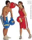 Gants de boxe - gonflables - Adulte Déguisements - Bleu
