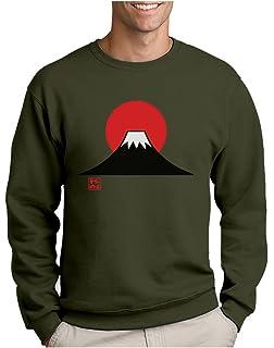 c43de5c35f04 Green Turtle T-Shirts Japon Mont Fuji Sweatshirt Capuche Homme  a750198dh  ifr