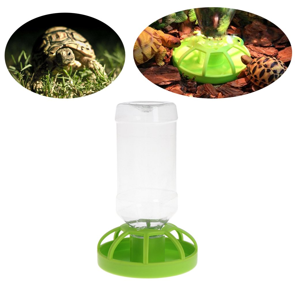 Jiamins Nourrisseur de Reptiles, Reptile Auto Feeder, Distributeur d'eau de Nourriture