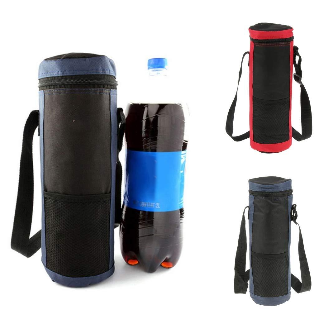 perfk Faltbar Isoliert-Trinkflasche mit Gro/ße Kapazit/ät Eisbeutel K/ühltasche f/ür Outdoor