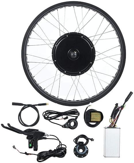 Keenso Kit de conversión de Motor de Bicicleta 20 Pulgadas, Kit de ...